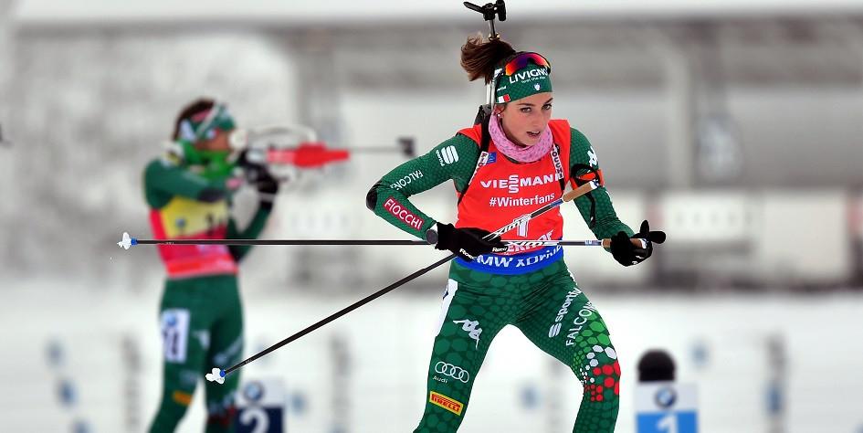 Доротея Вирер упустила лидерство в общем зачете Кубка мира по биатлону