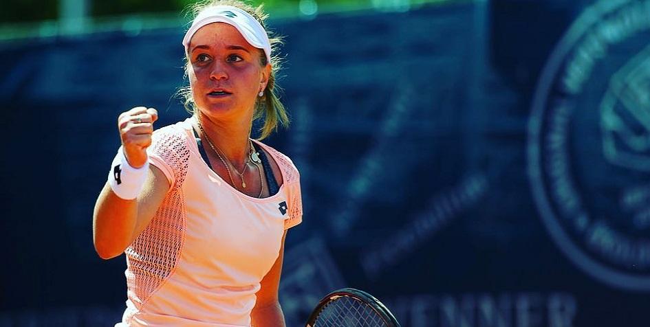 Российская теннисистка поднимется на 63 позиции в рейтинге WTA