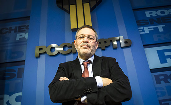 Вице-президент ОАО «Роснефть» Михаил Леонтьев