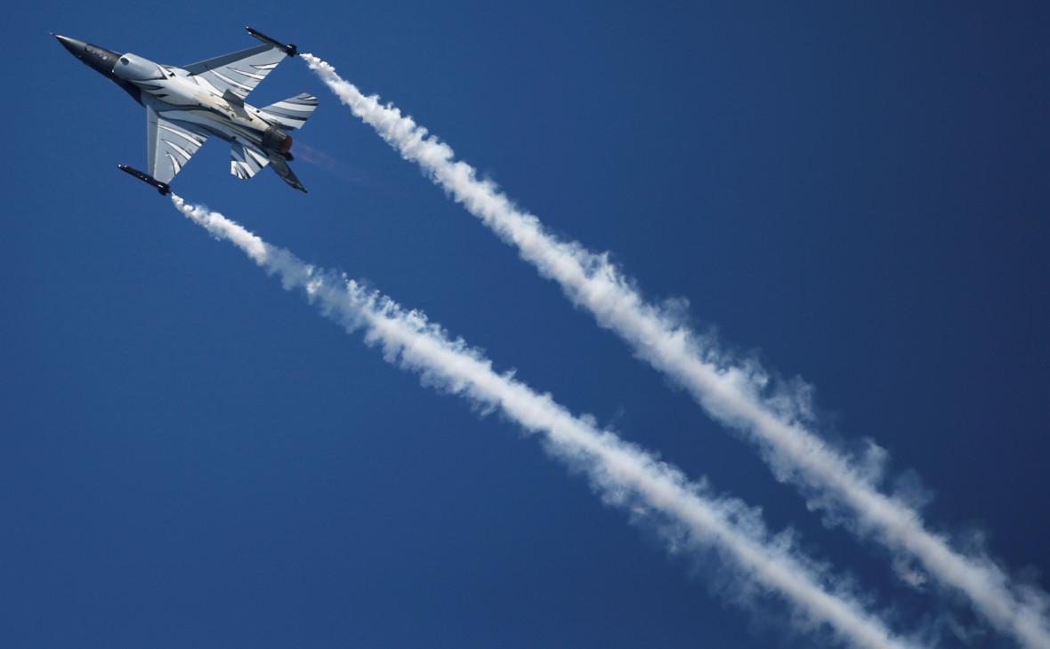 Истребитель Lockheed Martin F-16