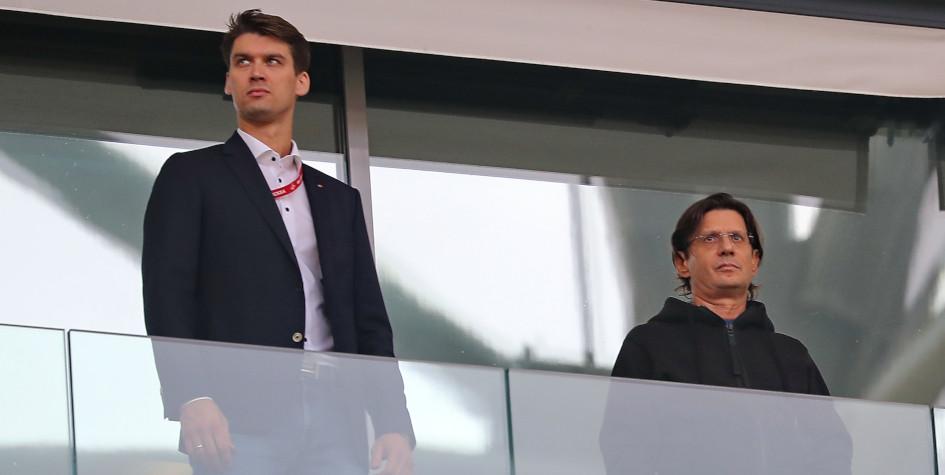 Фото: Томас Цорн и Леонид Федун (Фото ТАСС)