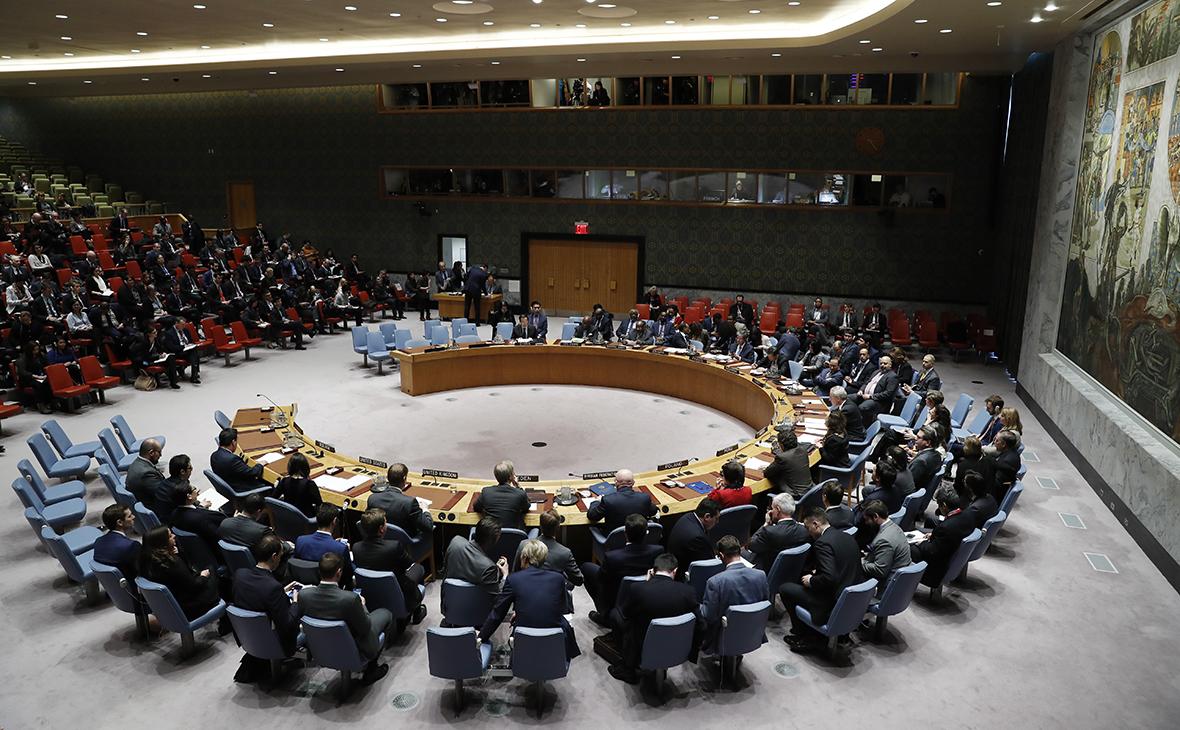 Заседание СБ ООН 14 марта 2018 года