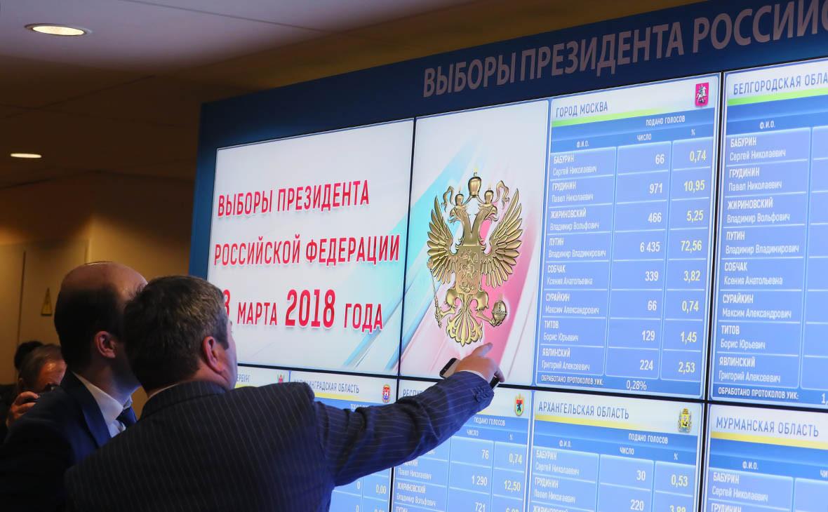 Vladimir Putin nhận hơn 76,6% số phiếu sau xử lý 99,84% phiếu bầu