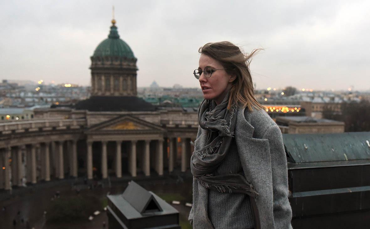 Собчак на выборах в Петербурге обошла Жириновского