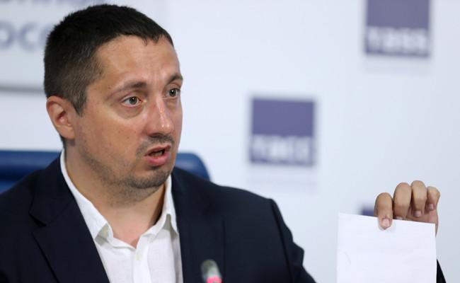 Президент Всероссийского объединения болельщиков (ВОБ) Александр Шпрыгин