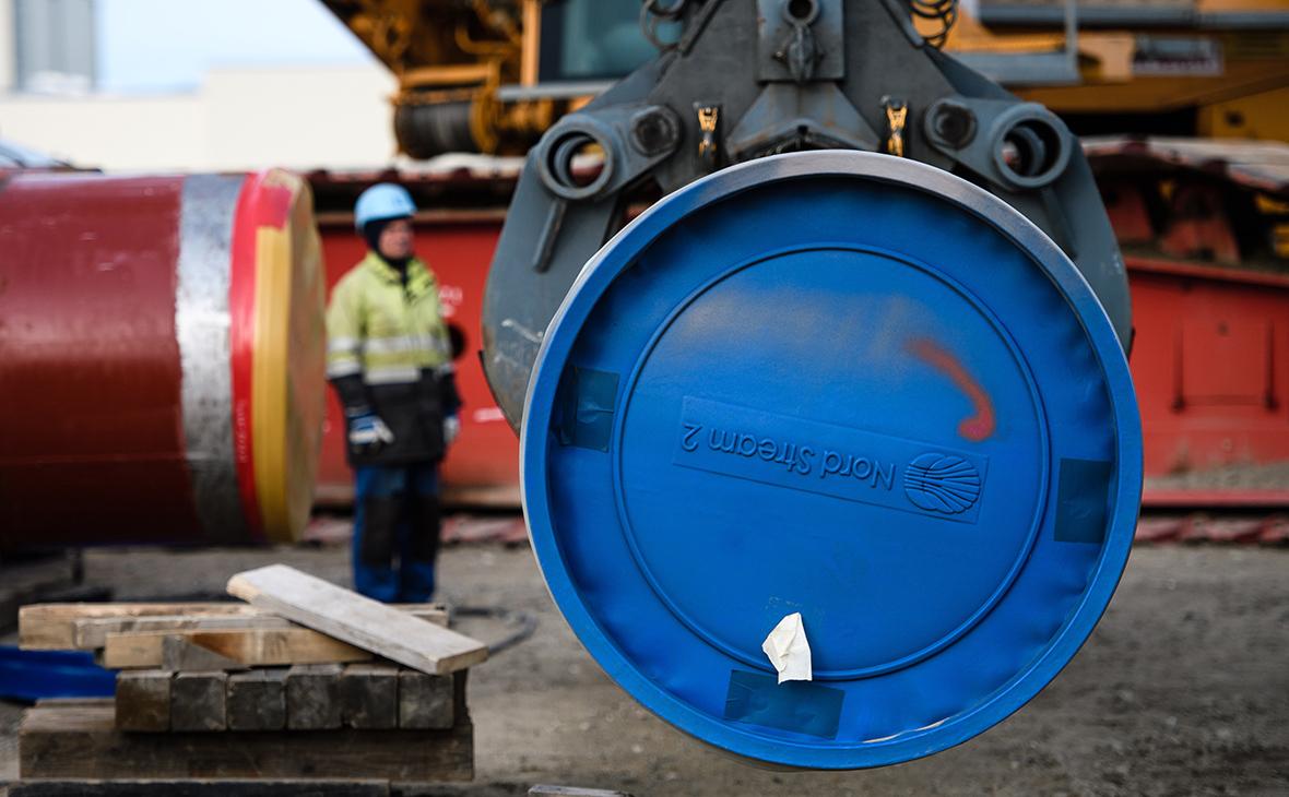Nord Stream 2 подала третью заявку Дании на строительство газопровода