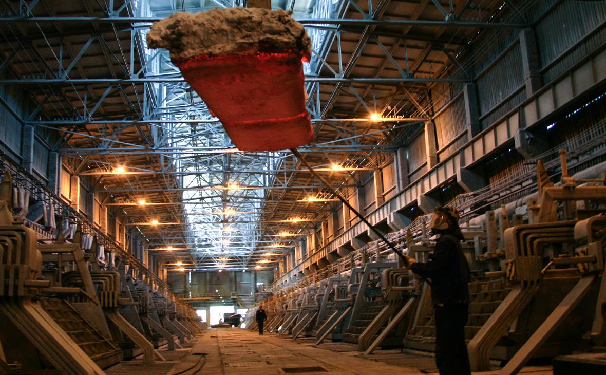 Надвоицкий алюминиевый завод в Карелии