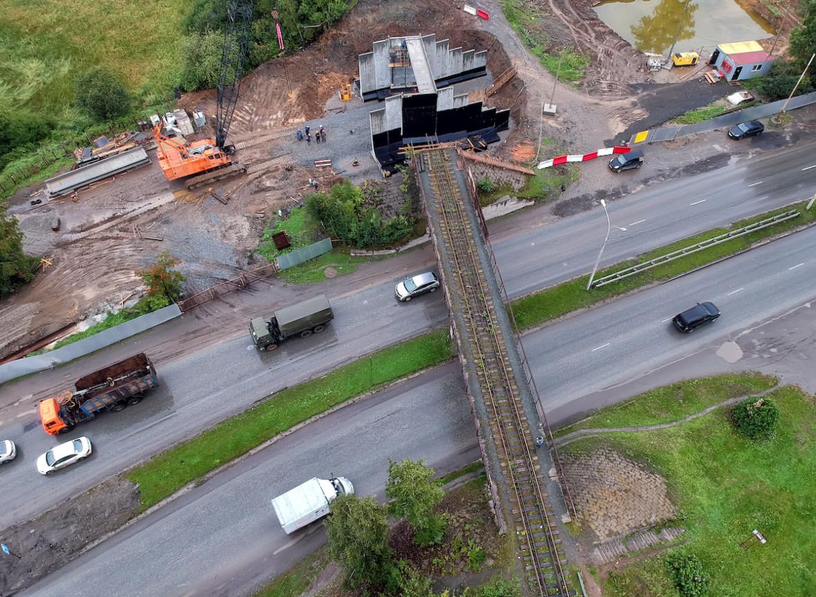 Строительство скоростной трамвайной линии в Верхнюю Пышму началось в конце августа