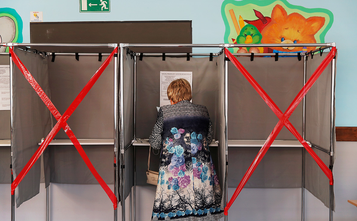 Голосование в Томске, Россия