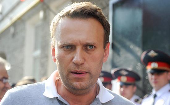 Оппозиционер АлексейНавальный.2012 год
