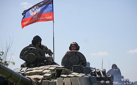 Во время отвода вооружений калибром менее 100мм в Донецкой области