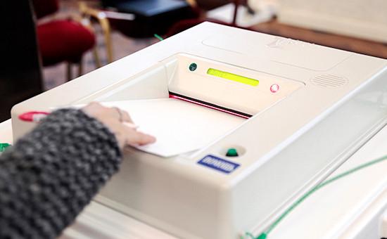 Во время муниципальных выборов вМоскве. 18 сентября 2016 года