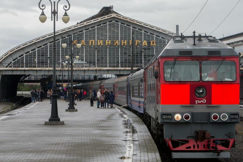 Фото:Калининградская железная дорога