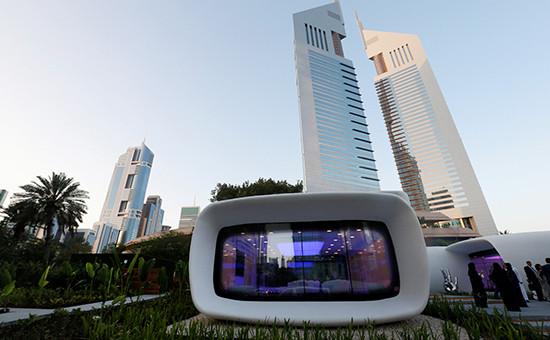 «Офис будущего»— первый вмире офис, напечатанный на3D-принтере. Дубай