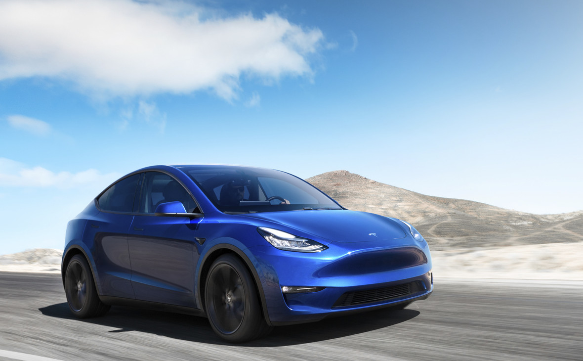 Электрический внедорожник Tesla Model Y
