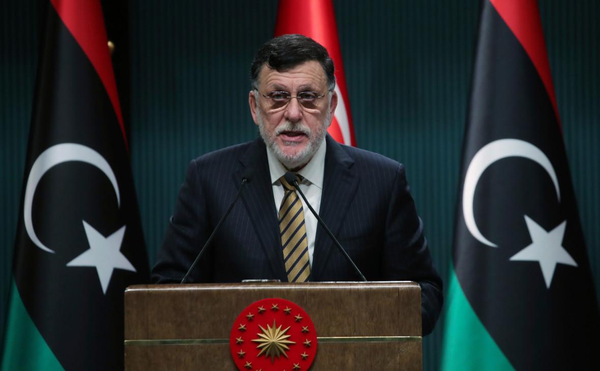 Саррадж назвал сроки передачи власти в Ливии
