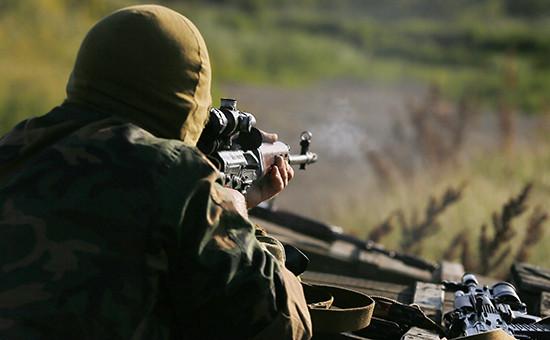 Военнослужащий ДНР  Архивное фото