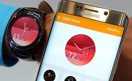 Флагман Samsung — «умные» часы Samsung Gear S2