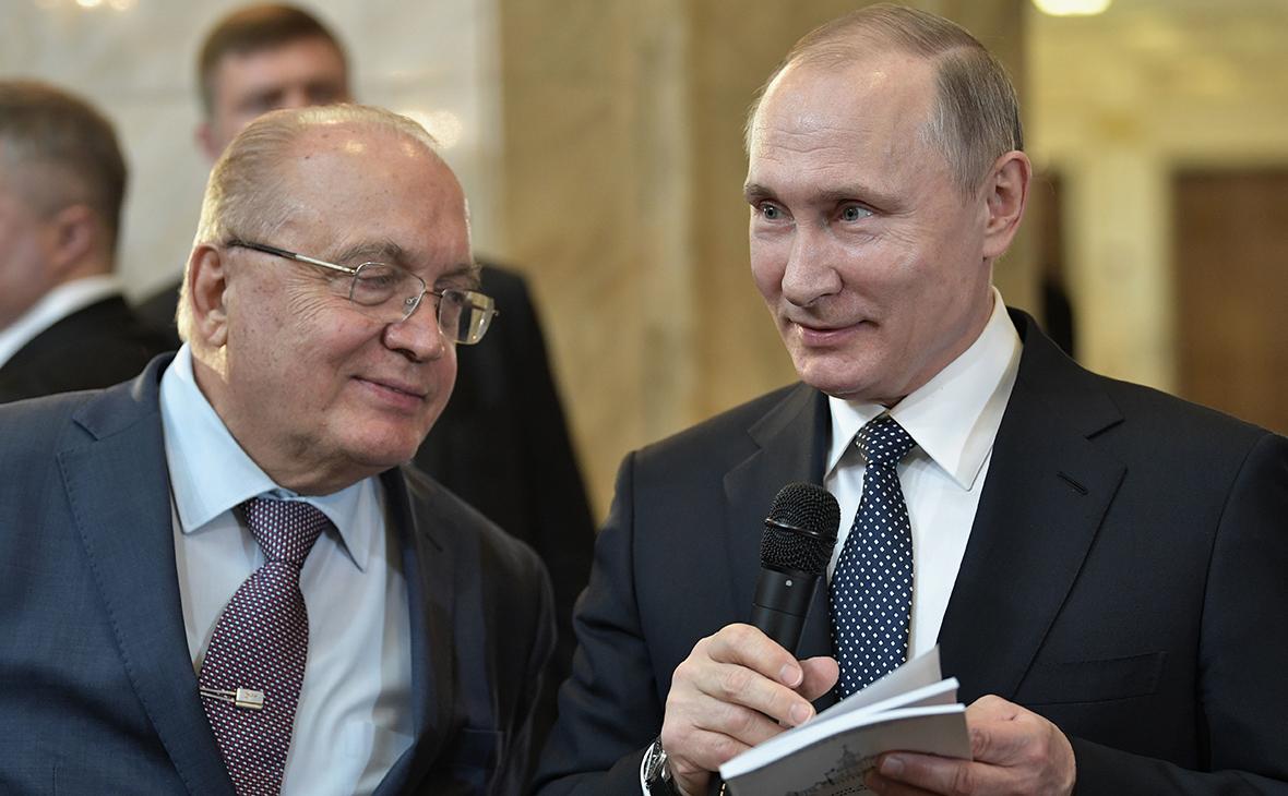 Виктор Садовничий и Владимир Путин