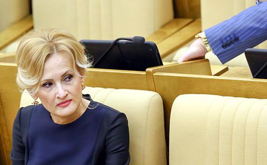 Председатель комитета Госдумы по безопасности и противодействию коррупции Ирина Яровая