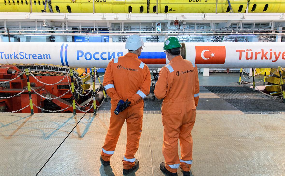 Фото:пресс офис TurkStream