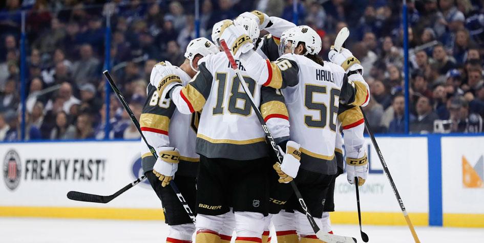 «Вегас» установил рекорд НХЛ по количеству побед