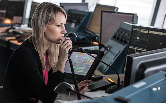 Работа диспетчерской службы аэропорта Шереметьево. Архивное фото
