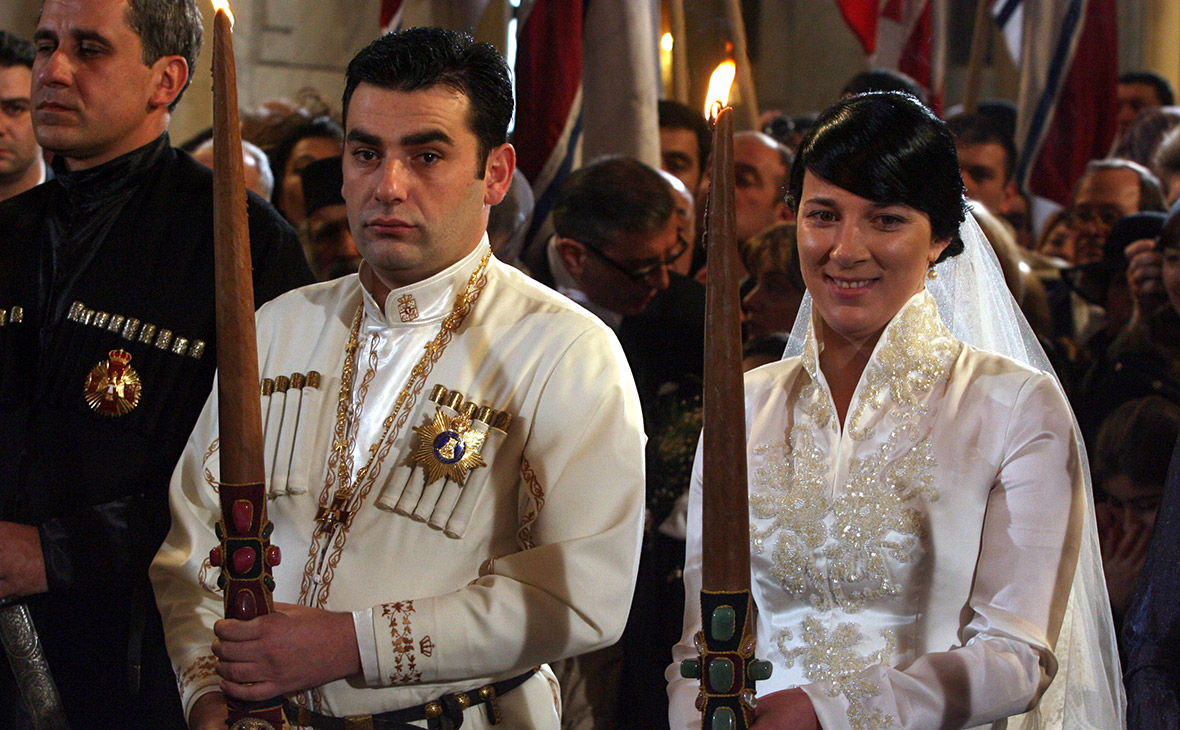 Давид Багратион-Мухранский и Анна Багратион-Грузинская