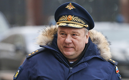 Командующий Воздушно-десантными войсками генерал Владимир Шаманов