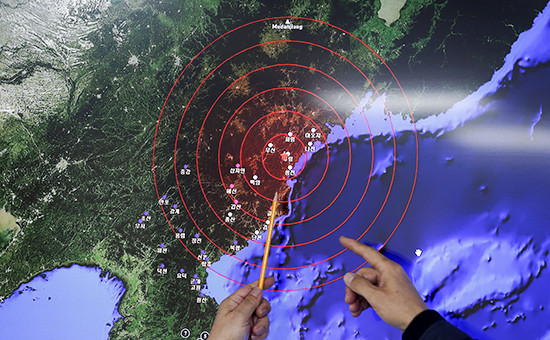Во время наблюдения за ядерными испытаниями. Январь 2016 года