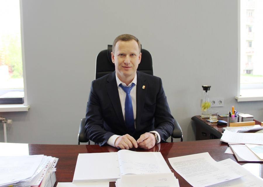 Мэр Среднеуральска Андрей Зашляпин