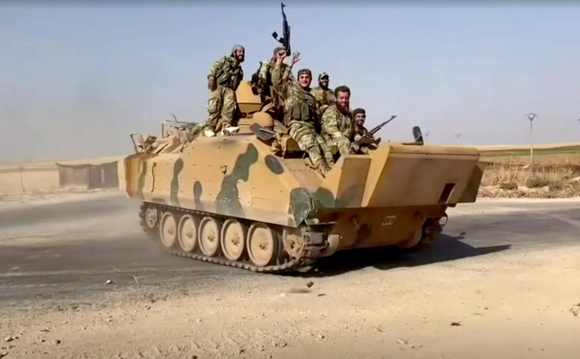 Курды договорились с Дамаском о войсках вдоль границы с Турцией