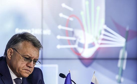 Глава концерна «Алмаз-Антей»Ян Новиков