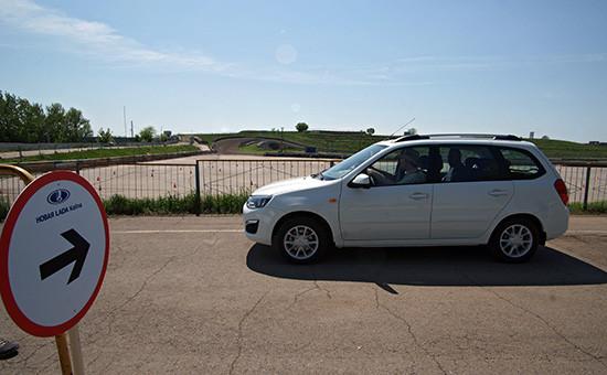 Автомобиль Lada Kalina