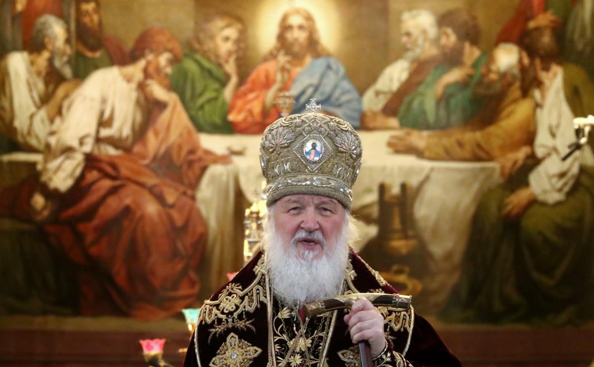Патриарх предложил вписать веру в Бога в Конституцию