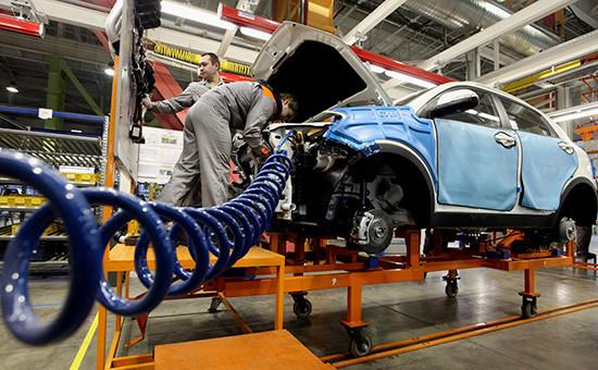Сборка автомобиля Ssang Yong New Actyon на заводе группы компаний Sollers