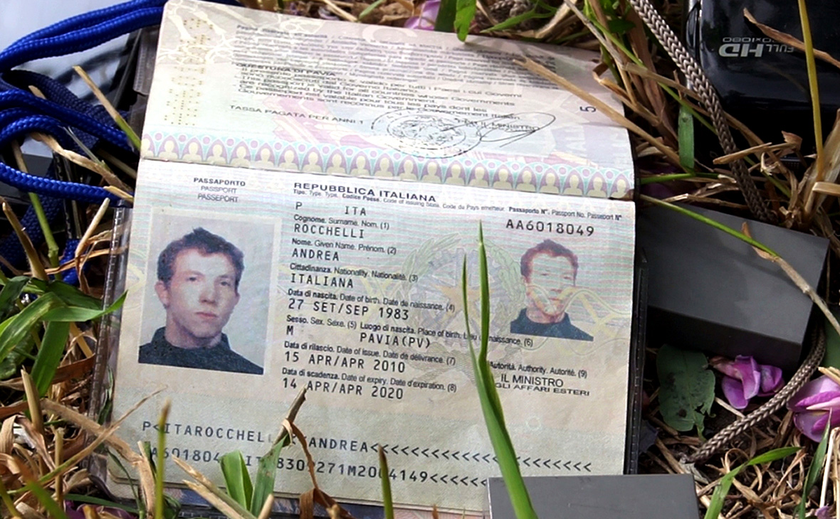 Паспорт итальянского фотографаАндреа Роккелли