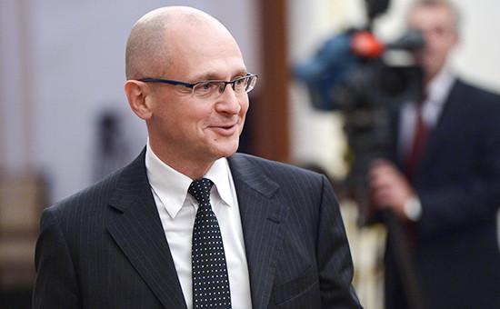 Первый заместитель руководителя администрации президента (АП) Сергей Кириенко