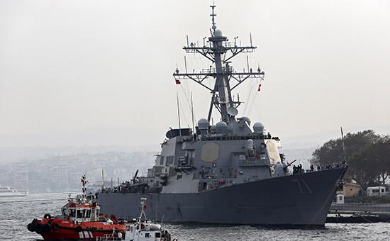 Эсминец USS Ross