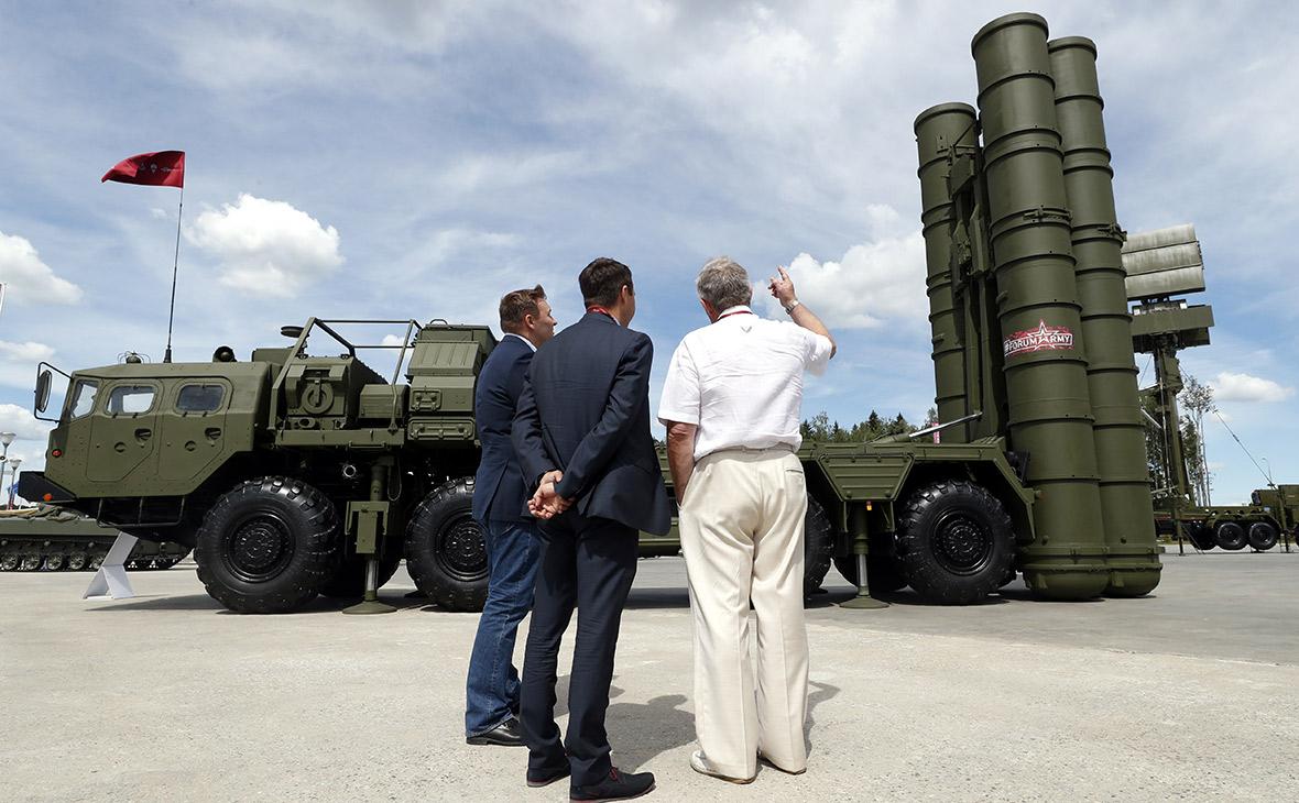Зенитный ракетный комплекс С-400 «Триумф»