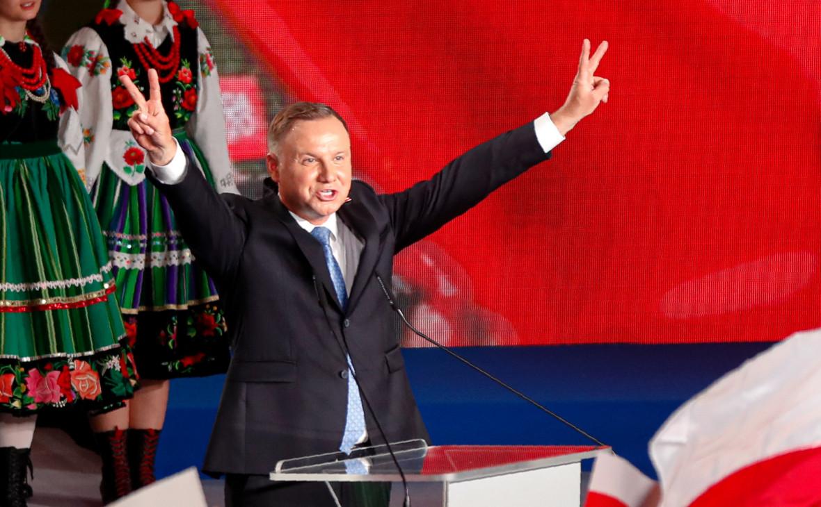 Действующий президент Польши не смог выиграть выборы с первого раза