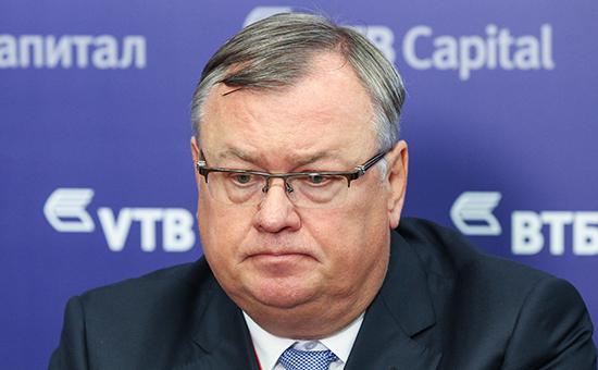 Глава ВТБ Андрей Костин
