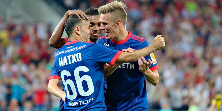 ЦСКА вышел в раунд плей-офф Лиги чемпионов