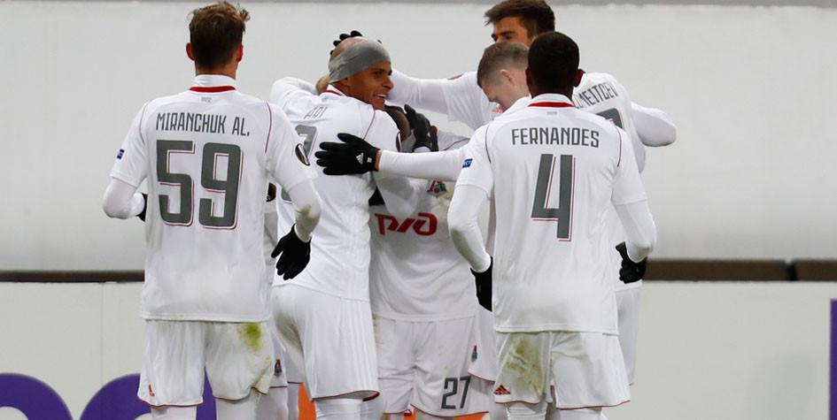 В 1/8 финала Лиги Европы сыграют три российских клуба