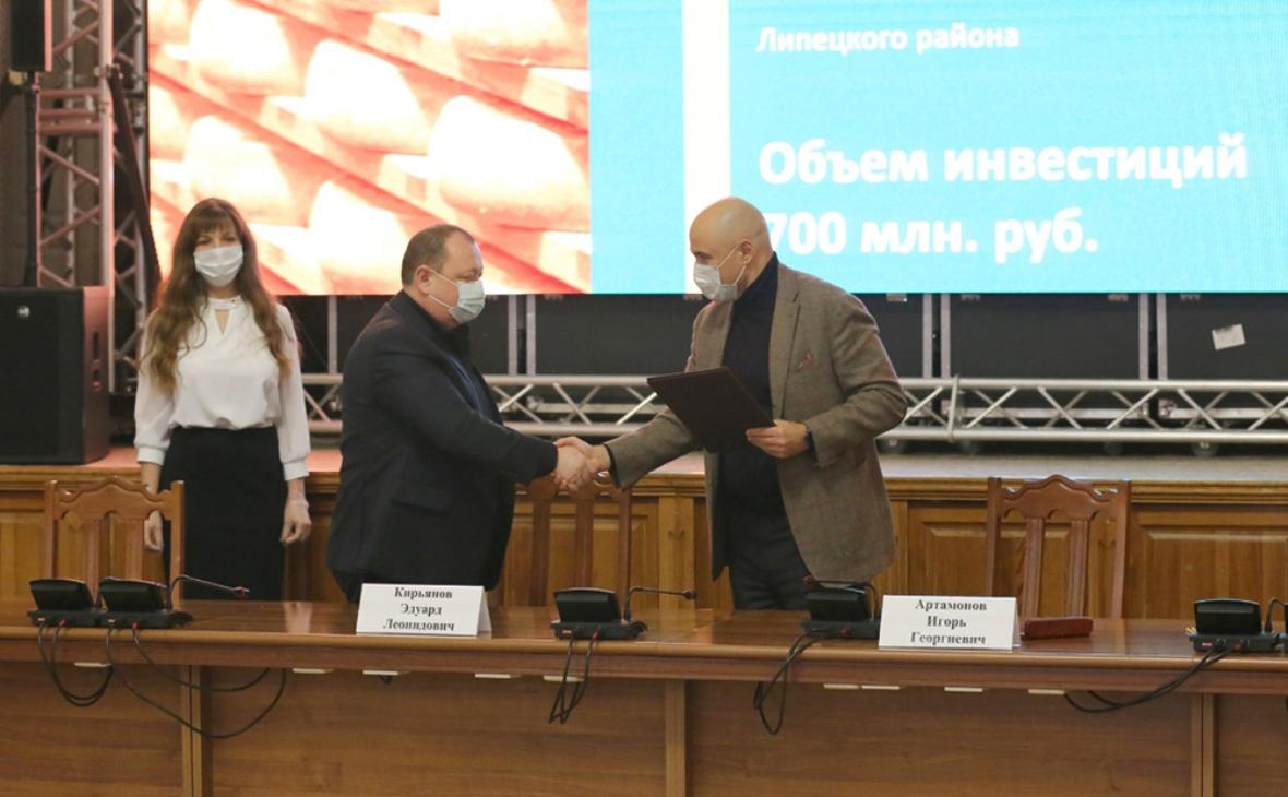 Фото:пресс-служба администрации Липецкой области