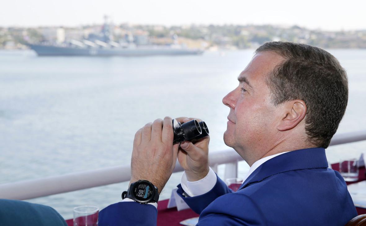 В Киеве обиделись на Россию из-за приезда Медведева в Крым. ФОТО