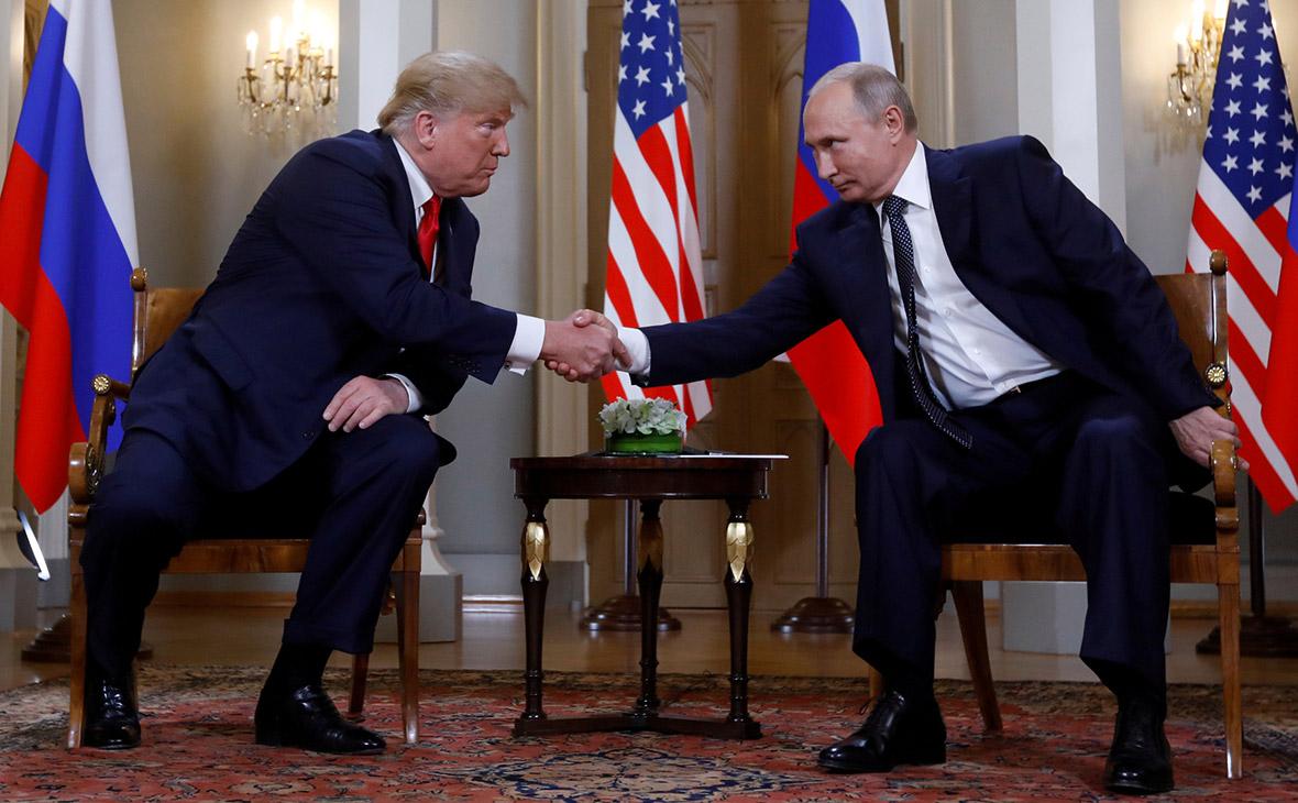 Дональд Трамп и Владимир Путин