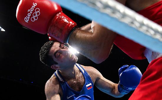 Серебряный призер Олимпиады вРио-де-Жанейро Миша Алоян