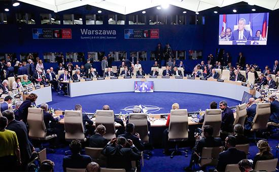 Саммит глав государств и правительств стран НАТО в Варшаве. 9 июля 2016 года