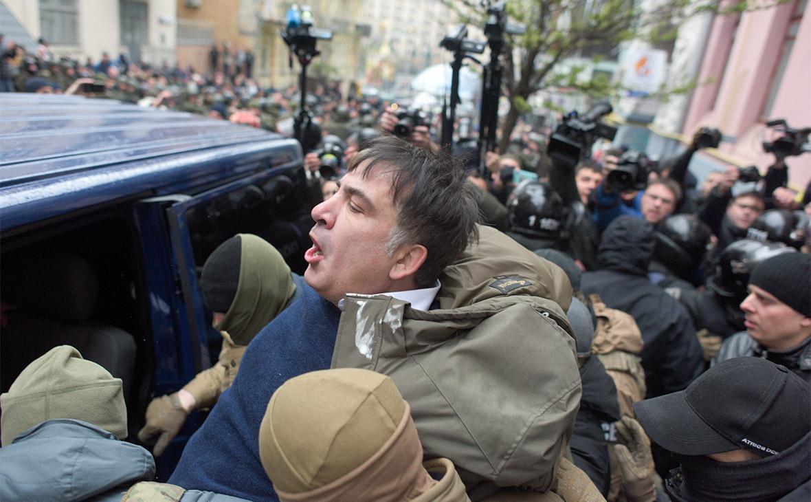 Задержание Михаила Саакашвили
